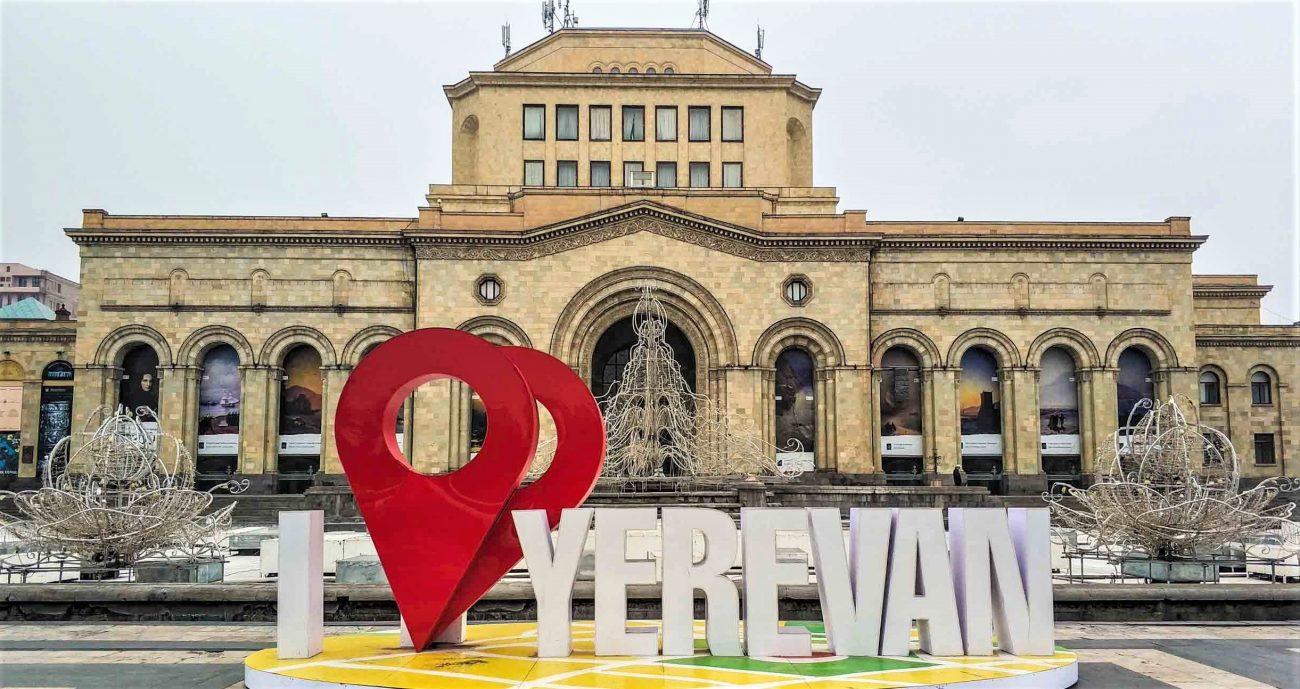 viziune la Yerevan)